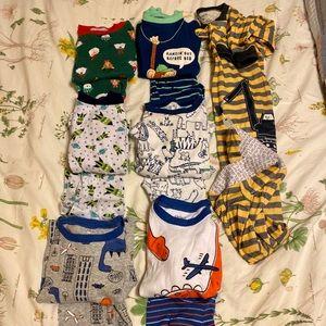 Lot of boys 3T long sleeve pajamas